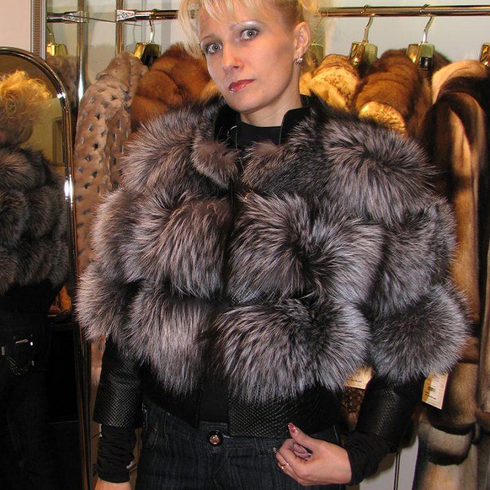 Куртка-из-чернобурки-с-кожей